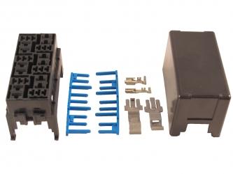 Modular Relay Block - 6 Micro Relay