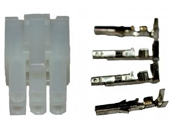 6 Way Header Connector
